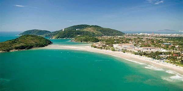 Playa de Pernambuco en Guaruja