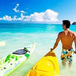 Playa en Hawaí