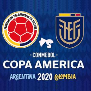 Copa América Colombia Vs Ecuador