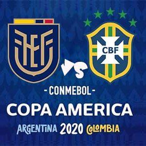 Copa América - Ecuador vs Brasil