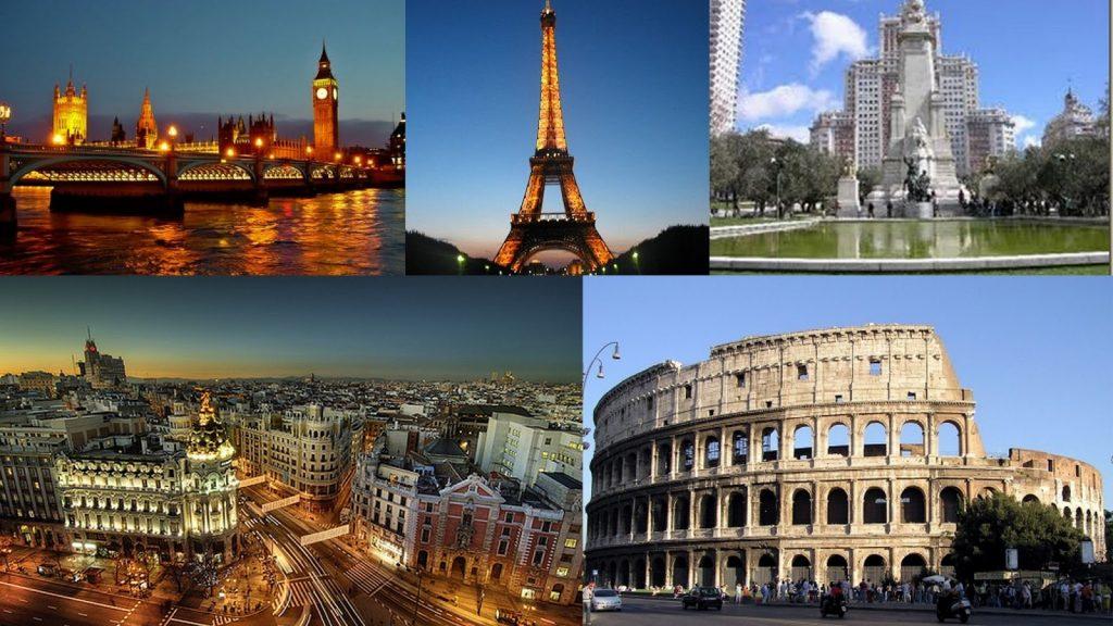 Tour a Europa saliendo desde Ecuador